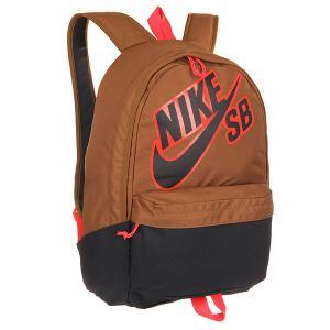 Рюкзак городской  SB Piedmont Brown/Navy/Pink Nike. Цвет: коричневый,синий,розовый