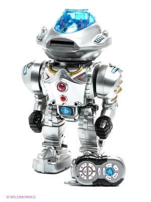Игрушка р/у Робот Играем вместе. Цвет: серый, голубой