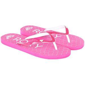 Вьетнамки детские  Rg Pebbles Vi Pink Roxy. Цвет: темно-розовый