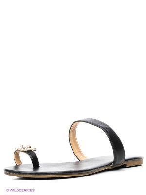Пантолеты Dino Ricci. Цвет: черный