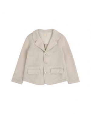 Пиджак AMORE. Цвет: серый
