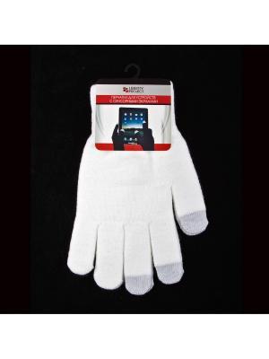 Перчатки LP для сенсорных экранов Liberty Project. Цвет: белый