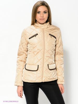 Куртка Baon. Цвет: бежевый