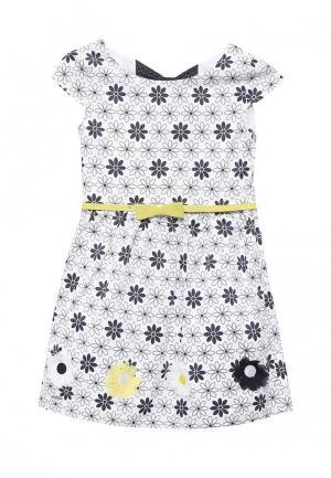 Платье Boboli. Цвет: белый
