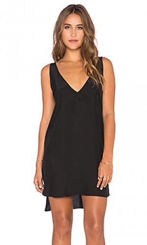 Платье vita Amanda Uprichard. Цвет: черный