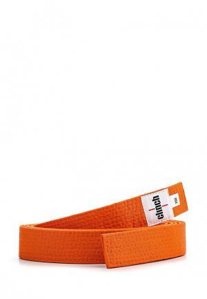 Пояс для единоборств Clinch. Цвет: оранжевый