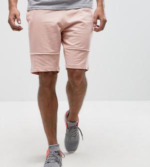 Brooklyn Supply Co. Трикотажные шорты с декоративными швами Co. Цвет: розовый