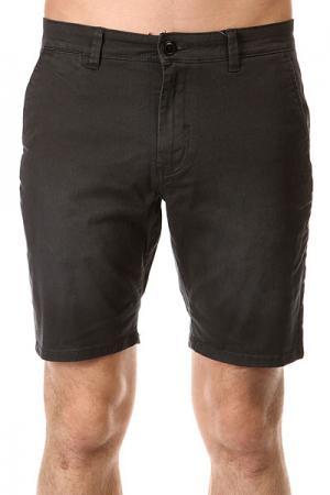 Шорты джинсовые  Krand Chino Slim Wkst Tarmac Quiksilver. Цвет: серый