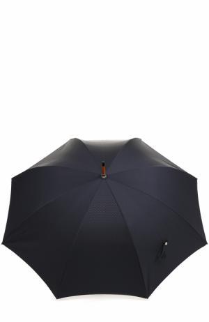 Зонт-трость Ermenegildo Zegna. Цвет: темно-синий