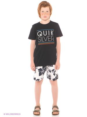 Шорты  SHRIMP TRUCK VL UE18 YOUTH Quiksilver. Цвет: белый, темно-синий