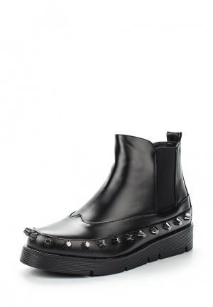 Ботинки LOST INK. Цвет: черный
