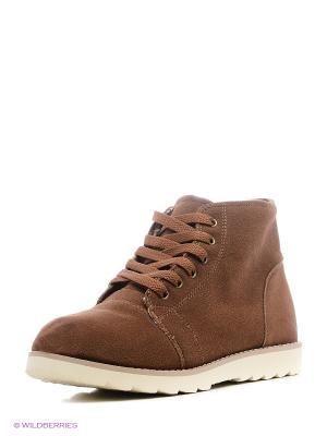 Ботинки BRIS. Цвет: коричневый