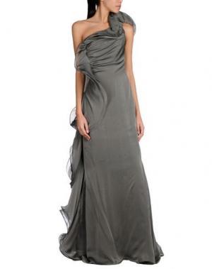 Длинное платье CAILAN'D. Цвет: серый