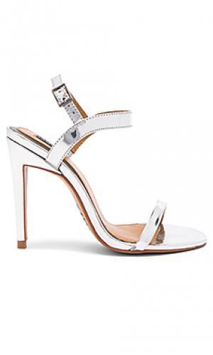 Туфли с металликом lane JAGGAR. Цвет: металлический серебряный