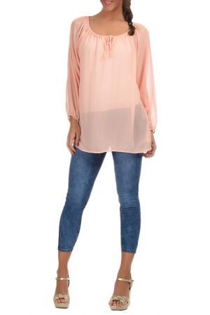Блуза Les Chineuses. Цвет: розовый