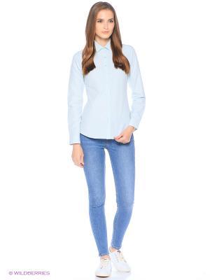 Рубашка U.S. Polo Assn.. Цвет: бирюзовый