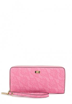 Кошелек Fabretti. Цвет: розовый