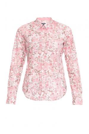Рубашка из хлопка 170622 Saint James. Цвет: розовый