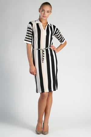 Платье Carla B. Цвет: бежевый