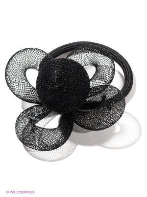 Резинка для волос Selena. Цвет: черный