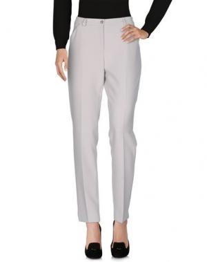 Повседневные брюки L.P. di L. PUCCI. Цвет: слоновая кость