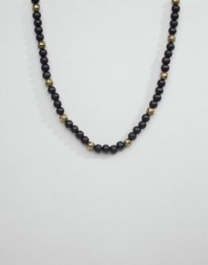 Icon Brand Ожерелье из бусин. Цвет: черный