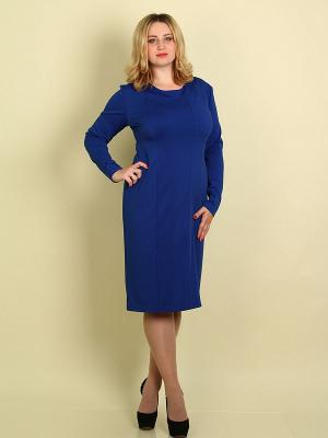 Платье Элит SPARADA. Цвет: синий