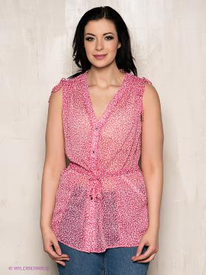Кофточка LE MONIQUE. Цвет: розовый