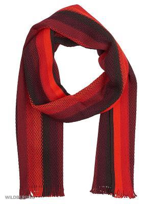 Шарф J Ploenes. Цвет: красный