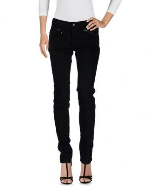 Джинсовые брюки ZADIG & VOLTAIRE. Цвет: черный