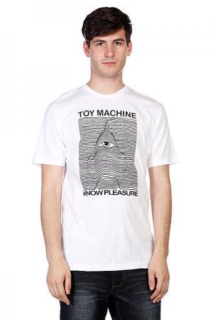 Футболка  Toy Division White Machine. Цвет: белый