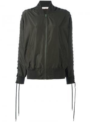Куртка-бомбер Vintage A.F.Vandevorst. Цвет: зелёный