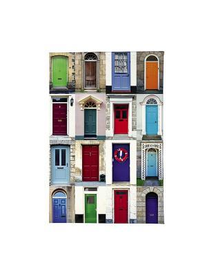 Обложка для автодокументов Такие разные двери Mitya Veselkov. Цвет: синий, зеленый, красный
