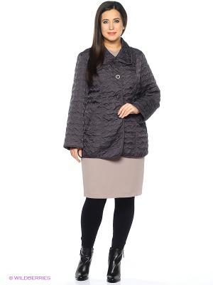 Куртка Emi Filini. Цвет: серо-коричневый