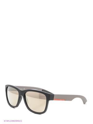Очки солнцезащитные Prada Linea Rossa. Цвет: кремовый