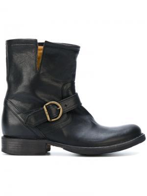 Ботинки с ремешками Fiorentini +  Baker. Цвет: чёрный