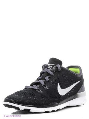 Кроссовки WMNS FREE 5.0 TR FIT 5 Nike. Цвет: черный