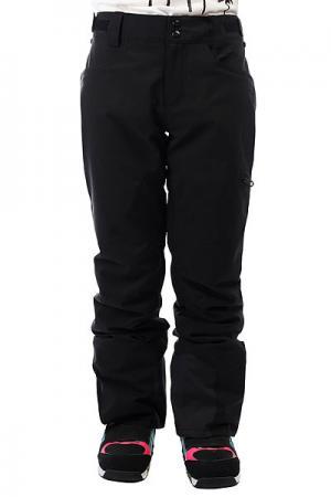 Штаны сноубордические женские  Suka Black Billabong. Цвет: черный