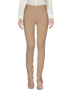 Повседневные брюки LIVIANA CONTI. Цвет: бежевый