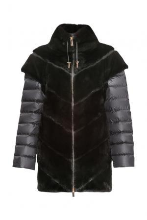 Норковая шуба 154834 Antonio Didone. Цвет: черный