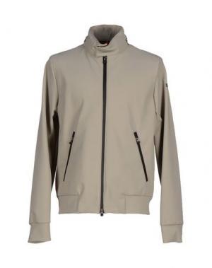 Куртка RRD. Цвет: голубиный серый