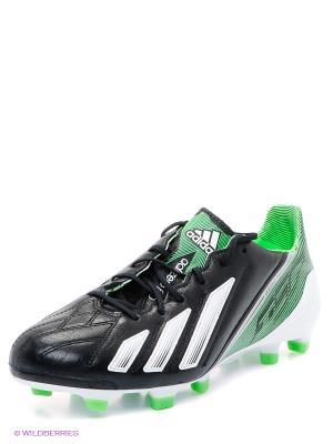 Бутсы adizero F50 Adidas. Цвет: черный