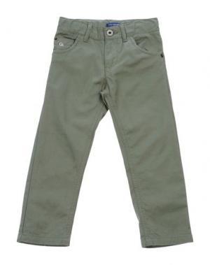 Повседневные брюки COTTON BELT. Цвет: зеленый-милитари