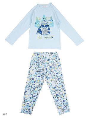 Пижама Ritta Romani. Цвет: голубой, синий