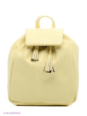 Рюкзак Trussardi. Цвет: желтый