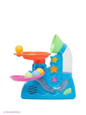 Воздушный фонтан Winner Toys. Цвет: голубой, фуксия, оранжевый, желтый
