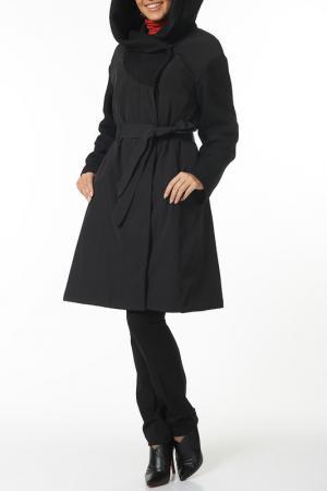Пальто Argent. Цвет: черный