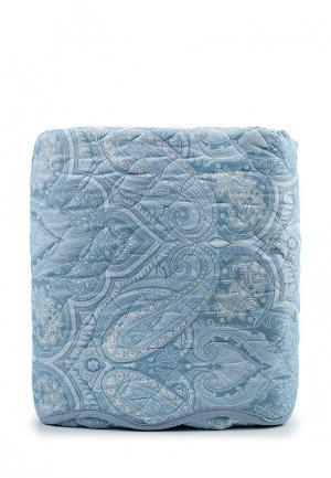 Комплект 2 наволочки, 1 простыня и покрывало Sofi De Marko. Цвет: голубой