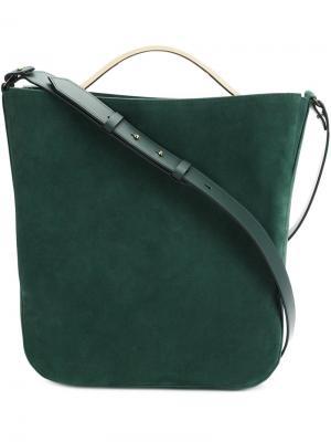Классическа сумка-тоут Eddie Borgo. Цвет: зелёный