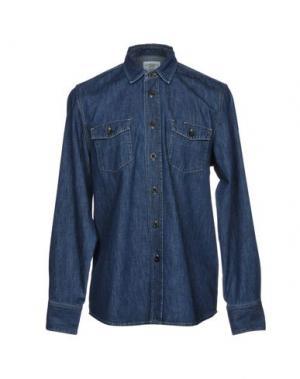 Джинсовая рубашка KENT & CURWEN. Цвет: синий
